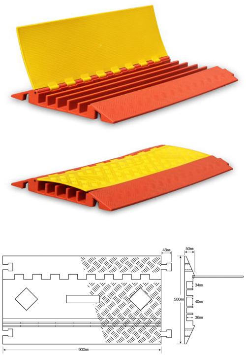 強化型ケーブルプロテクター どこでもケーブルワイド収納タイプULTRA